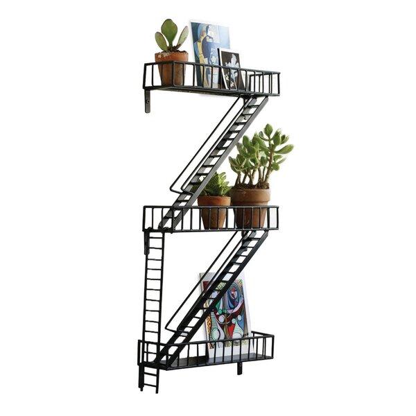 Fire Escape Wall Shelf by Design Ideas