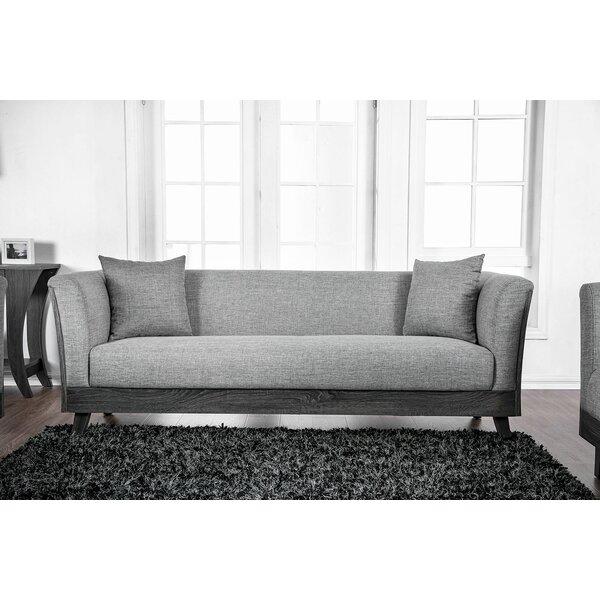 Cecillia Wooden Sofa by Gracie Oaks
