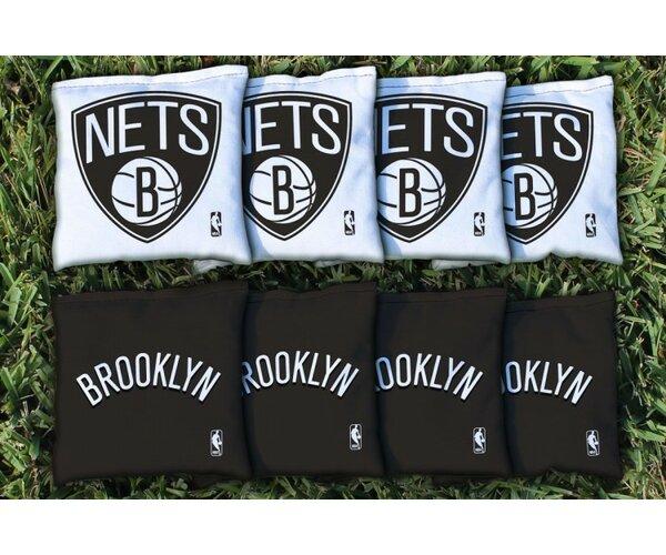 NBA Replacement Corn Filled Cornhole Bag Set by Vi