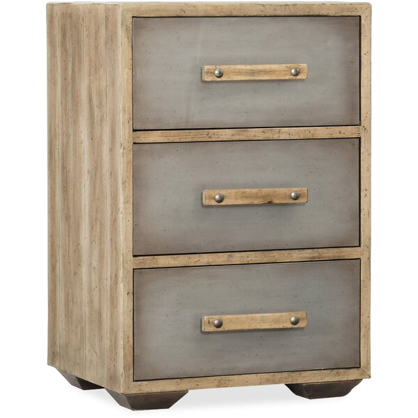 Urban Elevation 3 Drawer Nightstand by Hooker Furniture