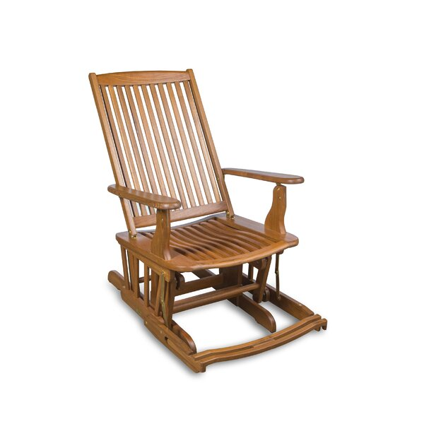 Gardendale Teak Rocking Chair by Red Barrel Studio