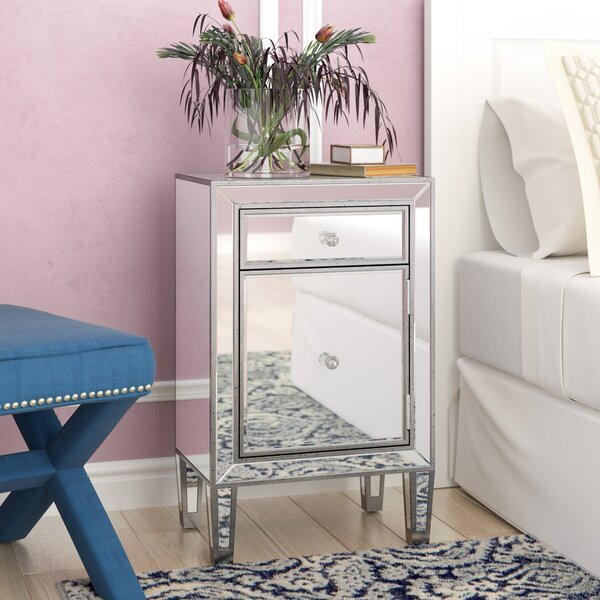 Tracey 1 Drawer Nightstand by Willa Arlo Interiors