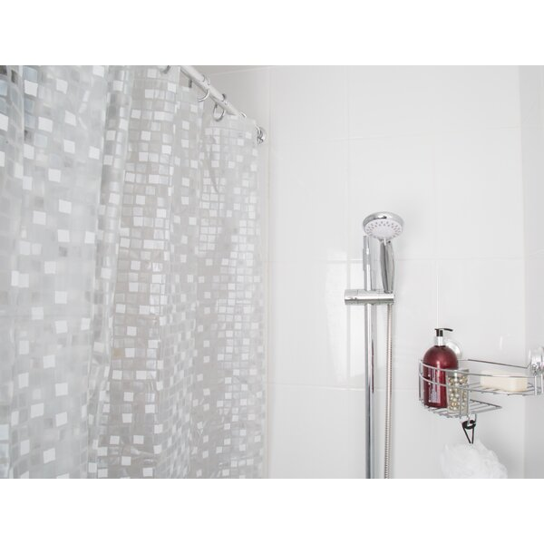 Desarae Mosaic Shower Curtain by Highland Dunes
