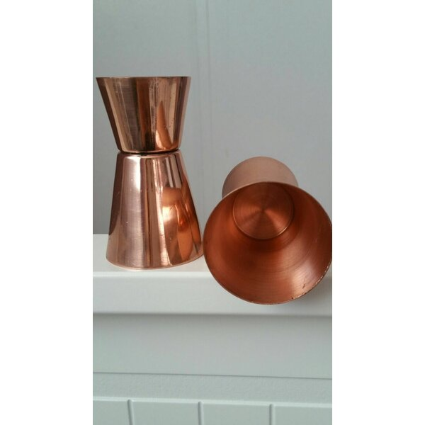 Housley Copper Jigger (Set of 2) by Ebern Designs