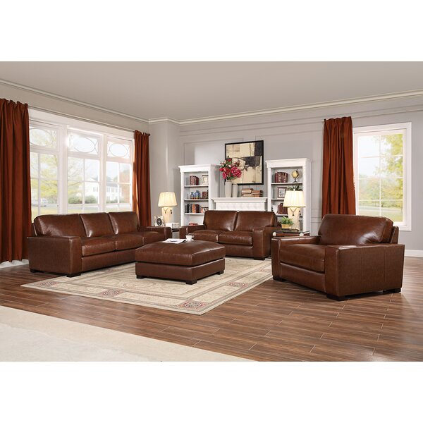 Armstrong 3 Piece Living Room Set by Charlton Home Charlton Home