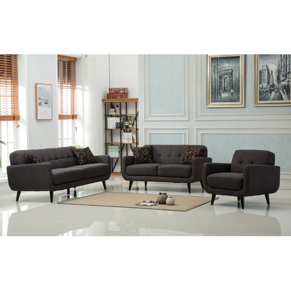 Modibella 5 Piece Living Room Set (Set of 5) by Roundhill Furniture