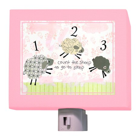Counting Sheep Night Light by Oopsy Daisy