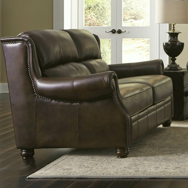 Appalachian Loveseat By Lazzaro Leather Great price