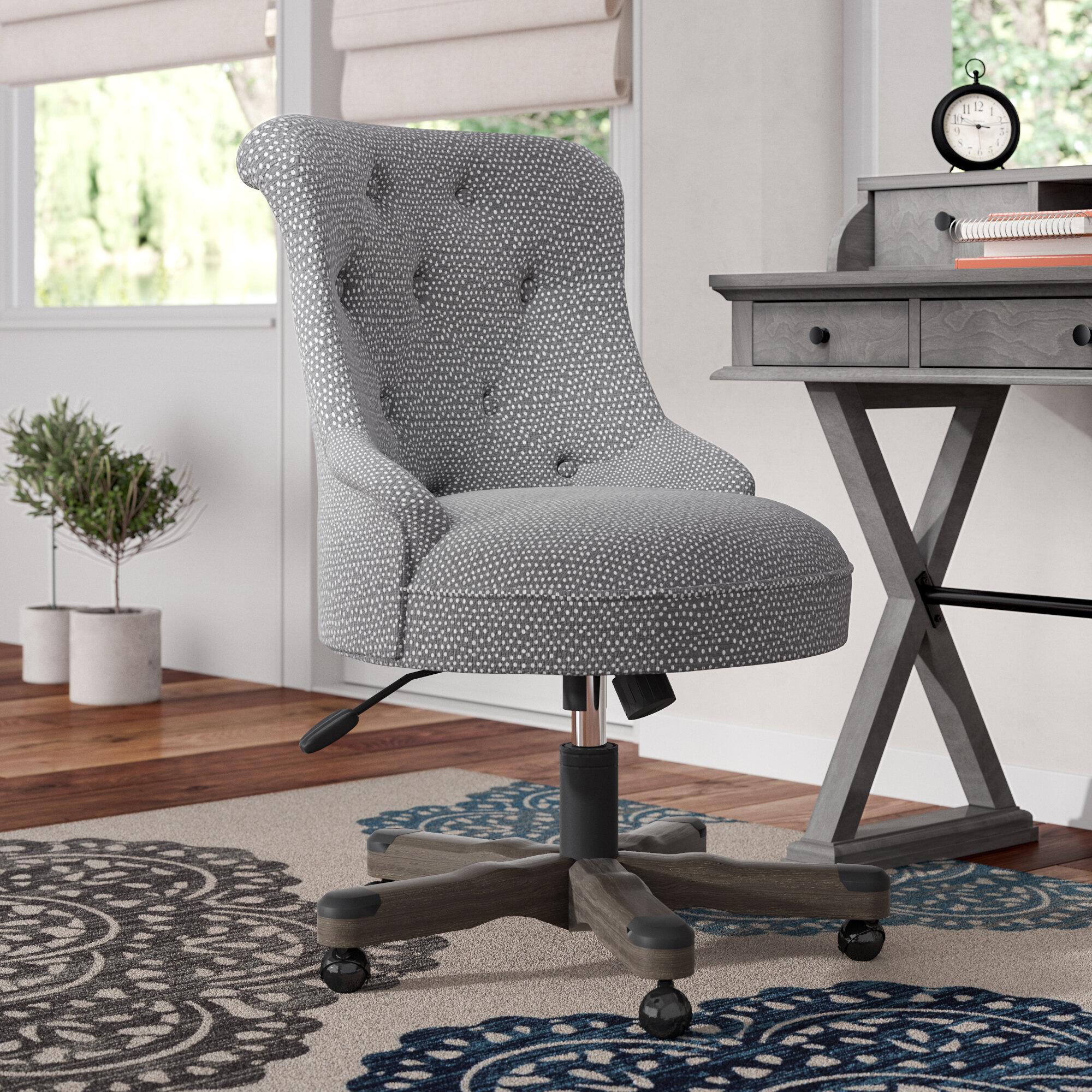 Alcott Hill Maria Dots Mid Back Desk Chair U0026 Reviews | Wayfair
