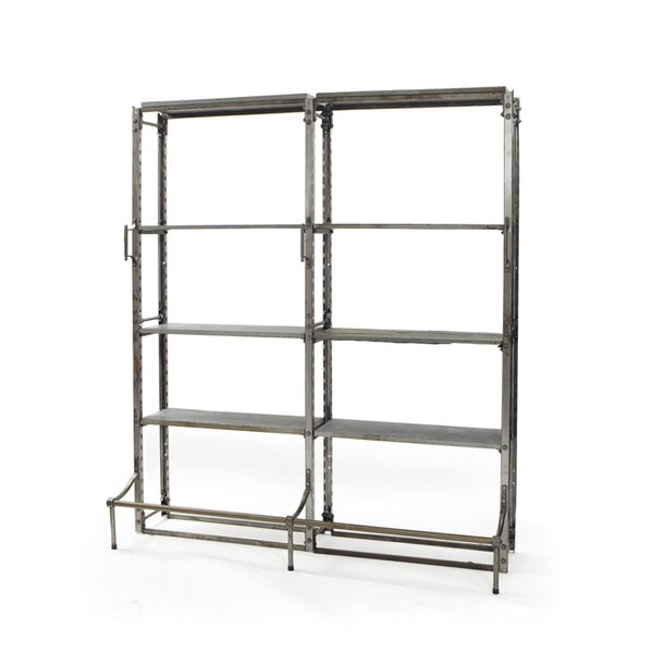 Ashland Double Warehouse Library Bookcase by 17 Stories