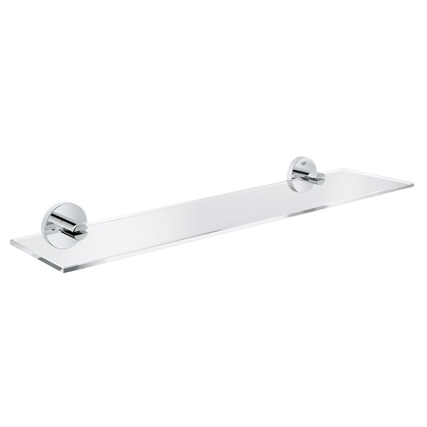Essentials Wall Mounted Bathroom Accessory Tray by Grohe