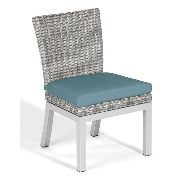 Saleem Patio Dining Chair with Cushion (Set of 2) by Brayden Studio