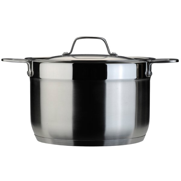 EarthChef 8 Qt Stock Pot with Lid by BergHOFF International