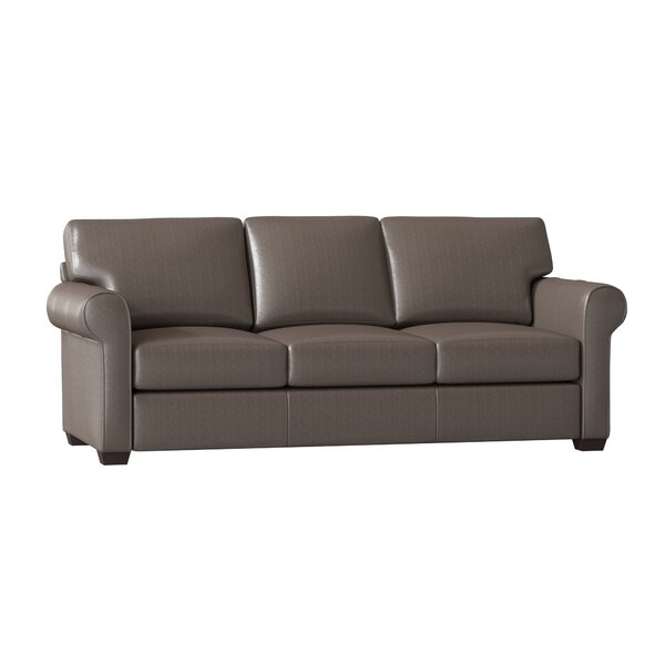 Review Rachel Leather Sofa Bed