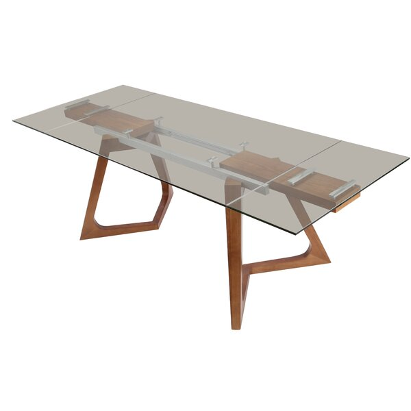 Agirta Extendable Dining Table by Orren Ellis Orren Ellis