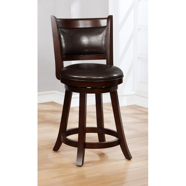 Yukon SwivelBar Stool (Set of 2) by Canora Grey Canora Grey