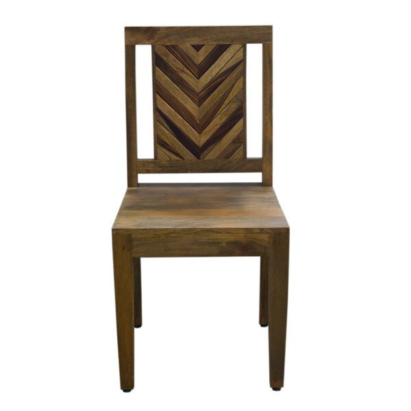 Glaucia Solid Wood Dining Chair by Union Rustic