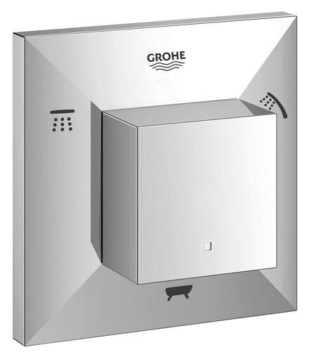 Allure Brilliant Five Way Diverter Shower Trim by Grohe