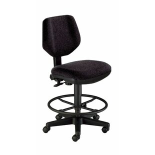 Deluxe Mid-Back Drafting Chair