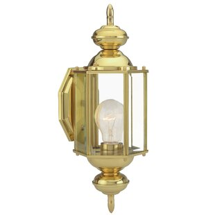 Savings Augusta 1-Light Outdoor/Indoor Sconce By Design House