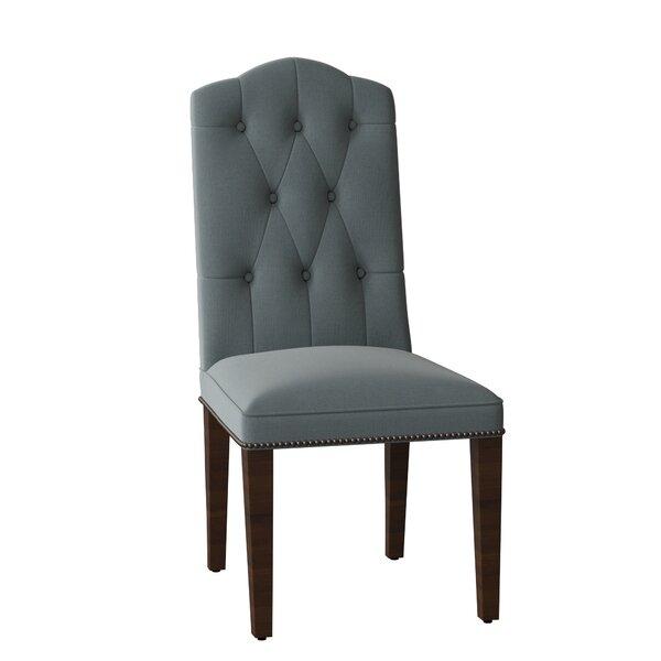 York Upholstered Dining Chair by Sloane Whitney Sloane Whitney