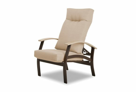 Belle Isle Adjustable Patio Chair with Cushions by Telescope Casual
