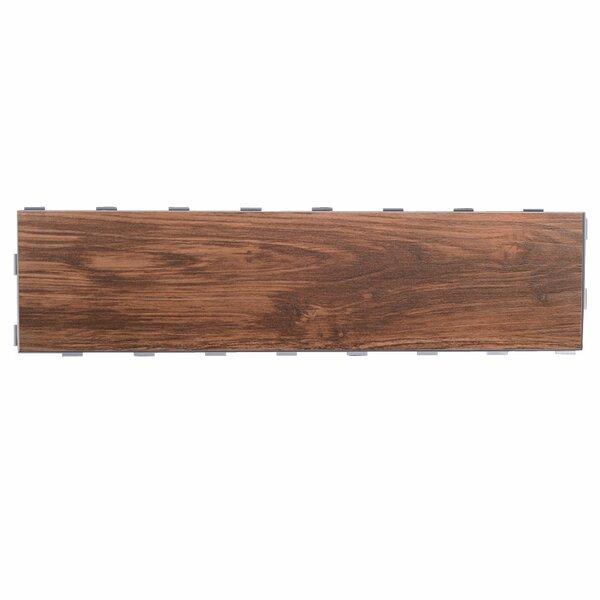 Planks ThinLine 6 x 24 Porcelain Wood Tile in Walnut by SnapStone