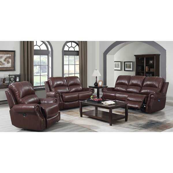 Montalto 3 Piece Reclining Living Room Set by Red Barrel Studio