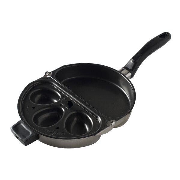 Rangeware 9.5 Folding Egg Poacher & Omelet Pan by Nordic Ware