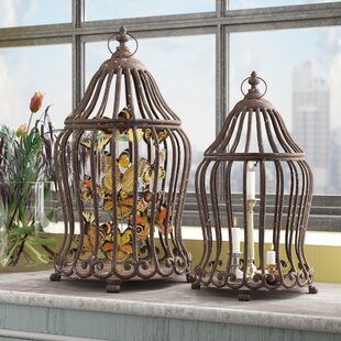 Metal Decorative Bird House Or Cage