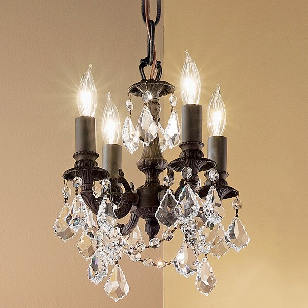 Majestic Imperial 4-Light Candle Style Chandelier by Classic Lighting