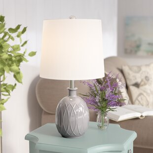 Price comparison Nikita Ceramic 21 Table Lamp By Ophelia & Co.
