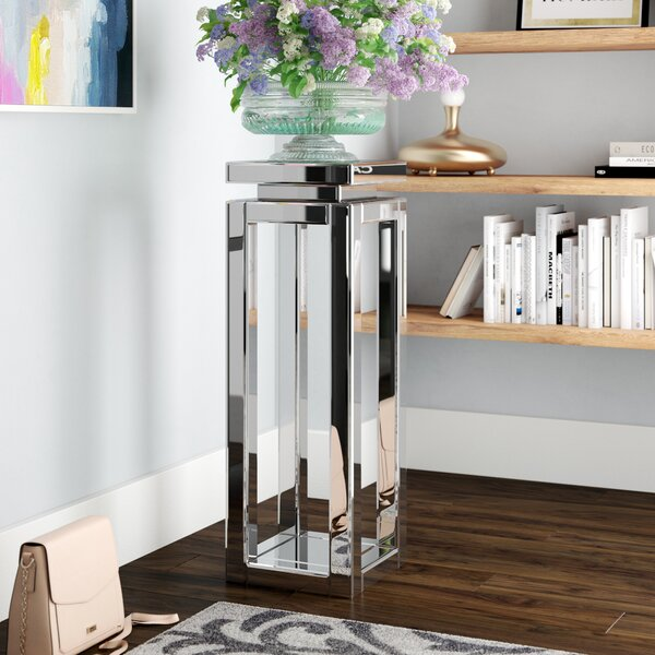 Brackenmore Pedestal End Table by Rosdorf Park