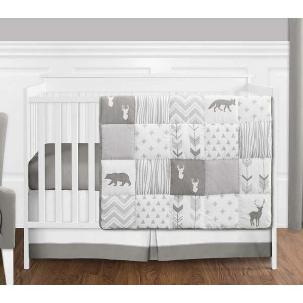 Woodsy 4 Piece Crib Bedding Set by Sweet Jojo Designs
