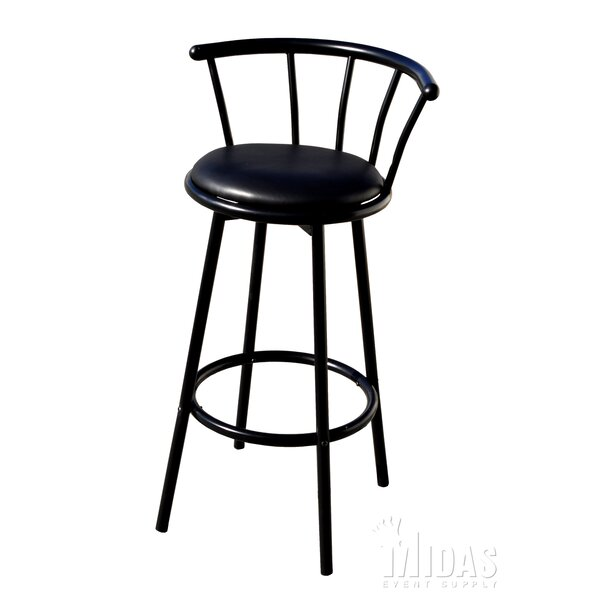 29 Swivel Bar Stool by Midas Event Supply