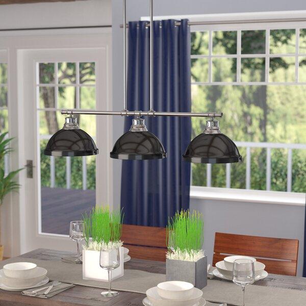 Bodalla 3-Light Kitchen Island Pendant by Beachcrest Home