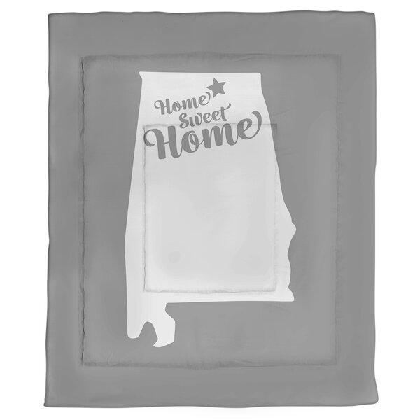 Huntsville Home Sweet Single Reversible Comforter