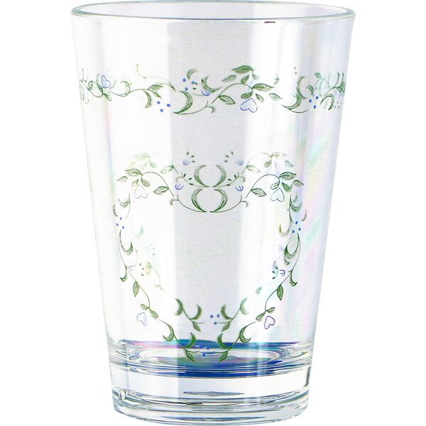 Country Cottage Acrylic 8 oz. Drinkware (Set of 6) by Corelle