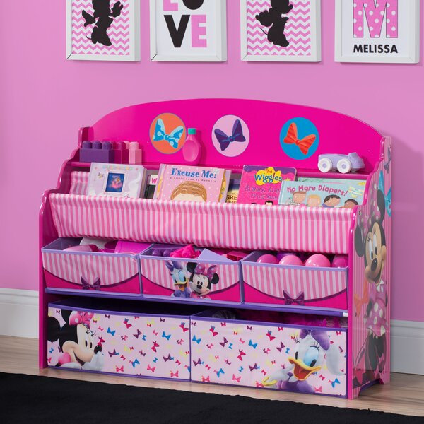 Deluxe Book And Toy Organizer By Delta Children.
