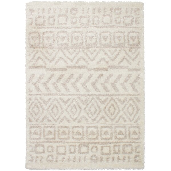 Chesterhill Cream/Tan Area Rug by Foundry Select