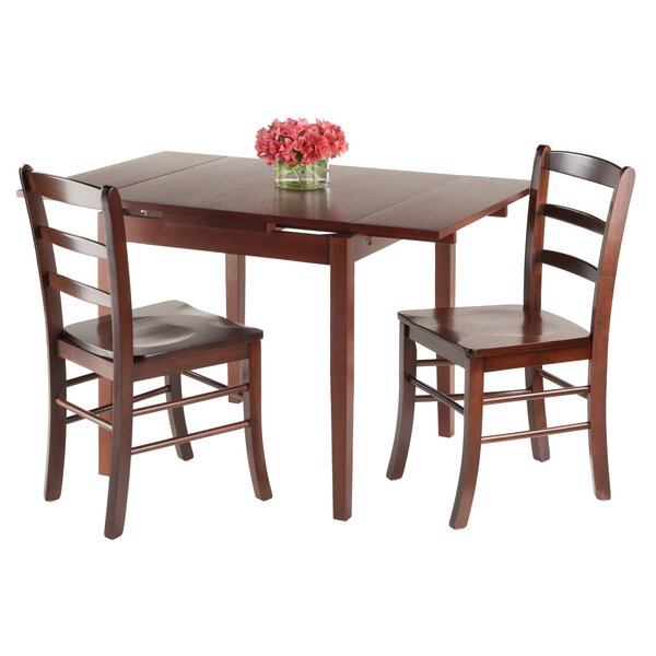 Shaws 3 Piece Extendable Dining Set by Alcott Hill