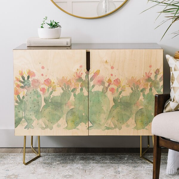 Cactus Credenza by East Urban Home East Urban Home