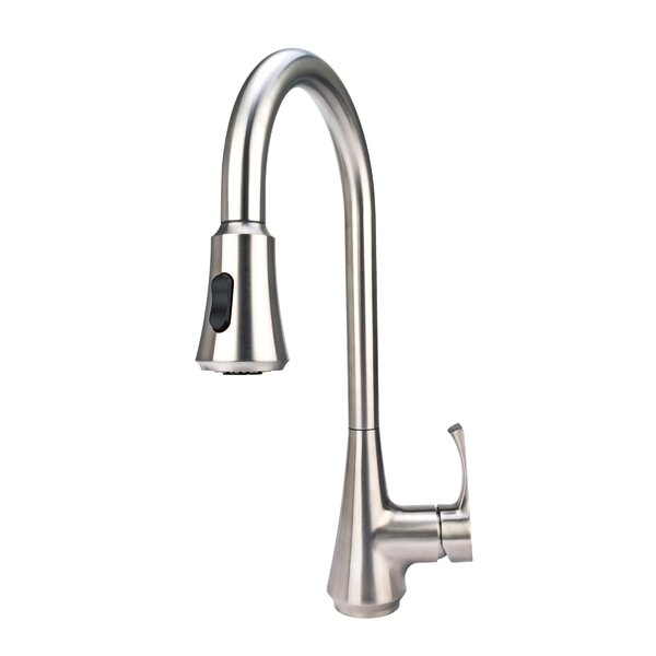 Pull Down Single Handle Kitchen Faucet by S-Series