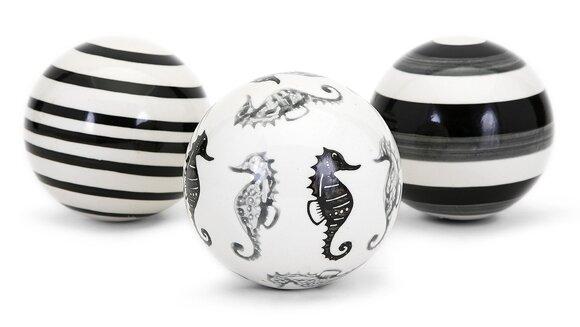 Tykeam 3 Piece Decorative Orb Set by Highland Dunes