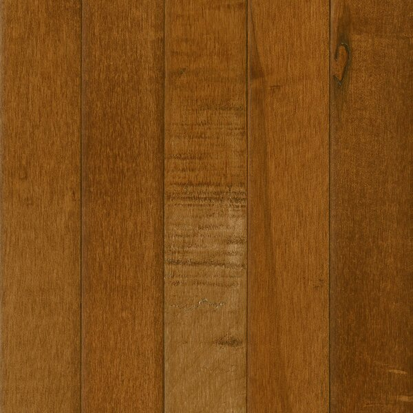 Prime Harvest 5 Solid Maple Hardwood Flooring in Spice Brown by Armstrong Flooring