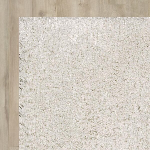 Parrish Hand-Tufted White Area Rug by Charlton Home