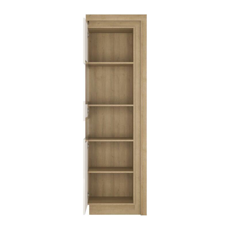 Lockheart Narrow Tall Display Cabinet With Lighting