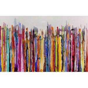 'Uprising' Painting Print on Wrapped Canvas by Zipcode Design