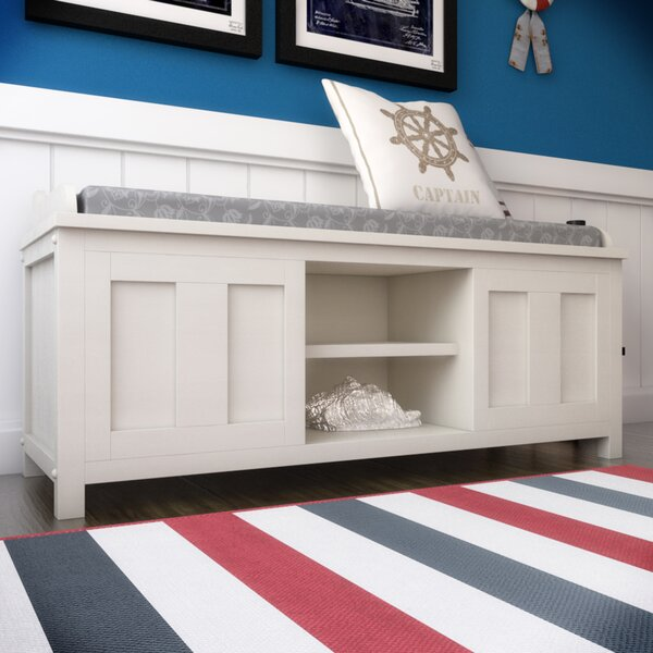 Gainsborough Wood Storage Bench by Beachcrest Home