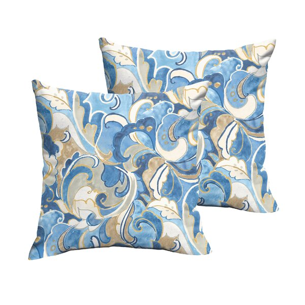 Renningers Indoor/Outdoor Throw Pillow (Set of 2) by Darby Home Co